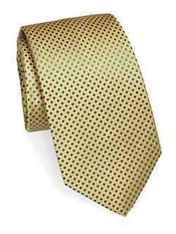 Eton of Sweden - Bold Dotted Silk Tie