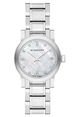 Burberry  - Small Round Diamond Dial Bracelet Watch