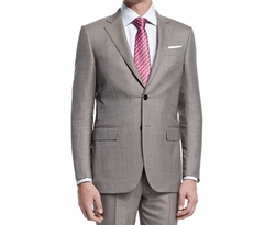 Ermenegildo Zegna  - Micro-Tic Two-Piece Trofeo Wool Suit