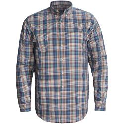 Reed Edward  - Cotton Button-Front Shirt