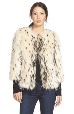 Kristen Blake - Spotted Faux Fur Jacket