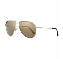 Tom Ford - Mirrored Metal Aviator Sunglasses