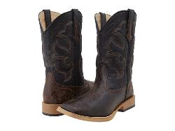 Roper  - Distressed Square Toe Cowboy Boot