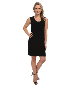 Kamalikulture by Norma Kamali  - Go Sleeveless U-Neck Dress