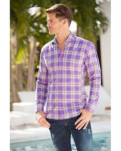 Bertigo - Anel Plaid Shirt