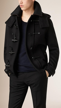 Burberry - Virgin Wool Duffle Coat