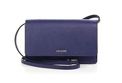 Prada - Saffiano Lux Small Crossbody Bag
