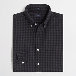 J.Ccrew - Factory Slim Patterned Washed Shirt