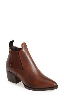 Topshop  - Margot Leather Ankle Booties
