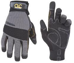 Custom Leathercraft  - Handyman Flex Grip Work Gloves
