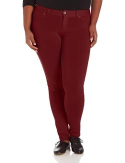 Southpole  - Juniors Plus-Size Basic Moleton Pants