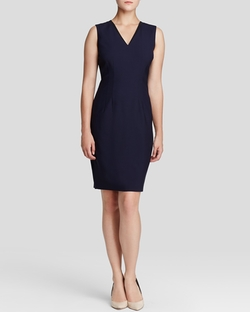 Elie Tahari - Gwenyth Stretch Wool Sheath Dress