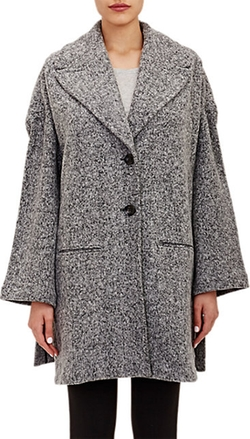 Atm Anthony Thomas Melillo - Fleece Two-Button Overcoat
