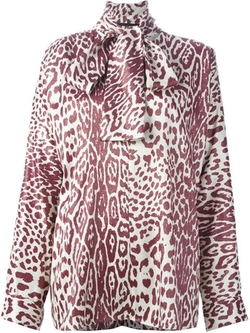 Haider Ackermann - Animal Print Loose Blouse