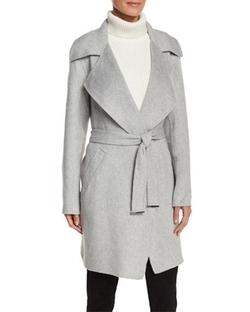 Michael Michael Kors - Belted Cocoon Coat