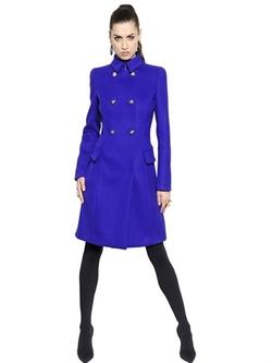 Versace - Double Wool Blend Coat