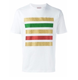 Palm Angels - Glitter Stripe T-Shirt