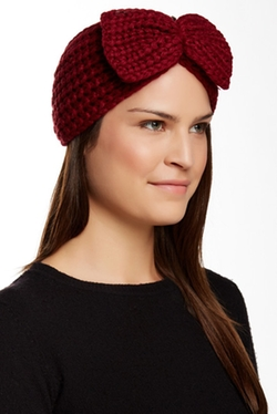Natasha Accessories - Knit Bow Headwrap
