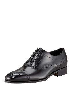 Salvatore Ferragamo	  - Caesy Cap-Toe Oxford