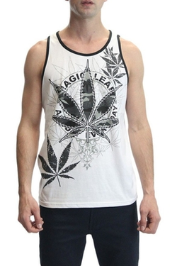 Victorious - Magic Leaf Print Tank Top