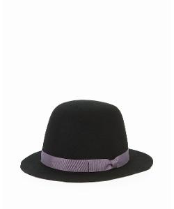 San Diego Hat Company - Womens Felt Grosgrain Band Bowler Hat