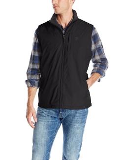 Izod - Fleece Lined Rip Stop Vest