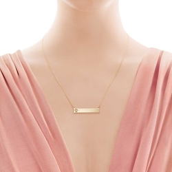 Paloma Picasso - Loving Heart Bar Pendant Necklace