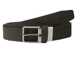 Lacoste  - SPW Leather Pique Belt Embossed Croc