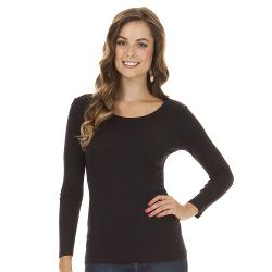 Daisy Fuentes - Favorite Solid Tee - Petite