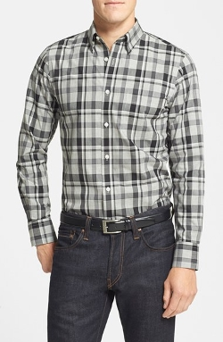 Nordstrom  - Smartcare Regular Fit Plaid Sport Shirt