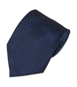 NY Fashion101 - Plaid Cross Pattern Necktie