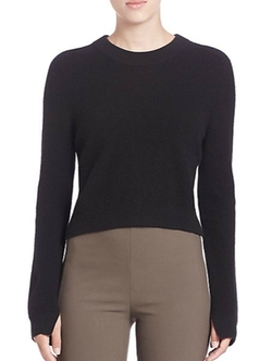 Rag & Bone - Valentina Cropped Cashmere Sweater