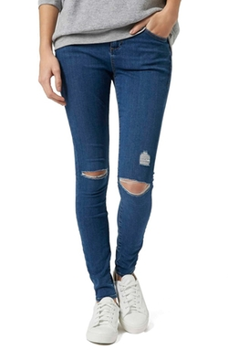 Topshop  - Moto Leigh Ripped Skinny Jeans