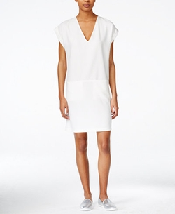 Bar III - Cap-Sleeve Shift Dress