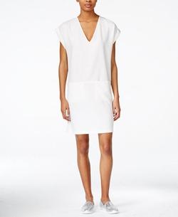 Bar III - Cap-Sleeve Shift Dress