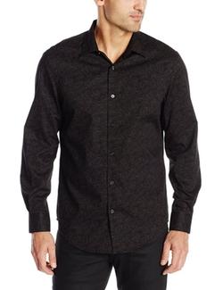 Perry Ellis - Tonal Paisley Print Shirt