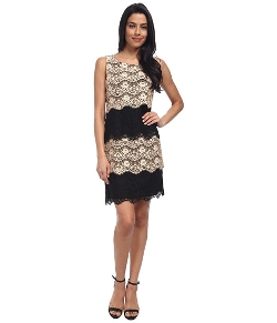 Jessica Simpson  - Scallop Lace Tier Dress