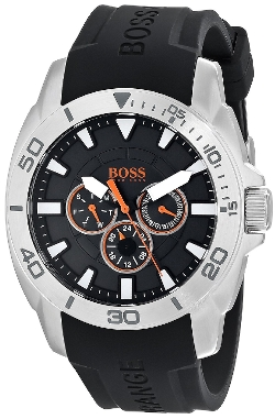 Boss Orange - Stainless Steel Silicone Casual Watch