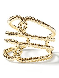 Banana-Republic - Twist Rope Cuff Bracelet