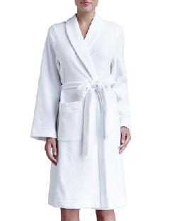 Hanro  - Plush Basic Tie-Waist Robe