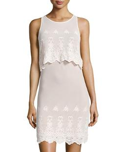 Tart  - Colby Tiered Scalloped-Lace Dress