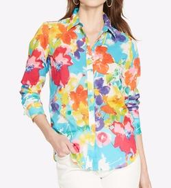 Lauren Ralph Lauren - Floral-Print Shirt