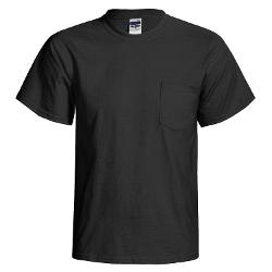 Gildan  - Cotton T-Shirt - Front Pocket, Short Sleeve