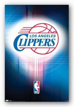 Trends International - Los Angeles Clippers Logo 2010 Sports Poster