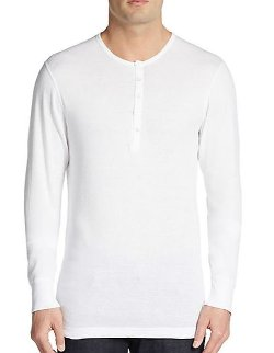 2xist - Cotton Henley Shirt