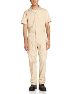 Berne  - Poplin Short Sleeve Coverall