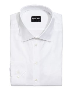 Giorgio Armani  - Basic Cotton Dress Shirt