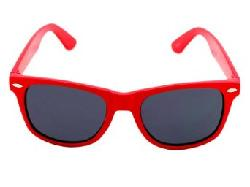 Private Label  - Classic Wayfarer Style Sunglasses Large Lens Size - Red