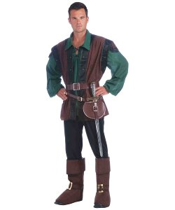 Wonder Costumes - Medieval Men Costume Kit
