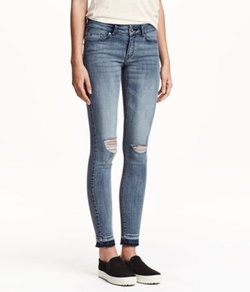 Forever21 - Skinny Low Ankle Jeans